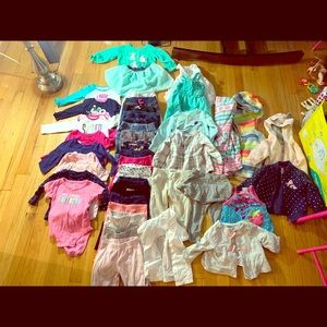 12 MONTH BABY GIRLS OUTFITS